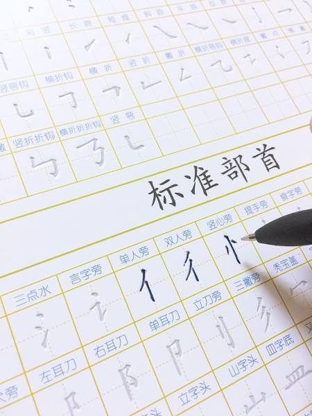 Mua Tập viết chữ hán bay mực magic - luyện viết đẹp tiếng Trung - Tặng 20 ngòi bay mực + Quà tặng