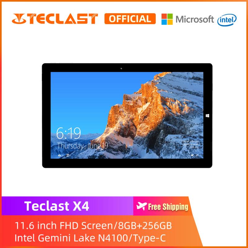 [Teclast Official] Máy tính bảng chuyển đổi X4 2 trong 1 / Màn hình FHD 11,6 inch / RAM 8GB 256 GB SSD / Windows 10 / Intel Celeron N4100 / 1 năm bảo hành