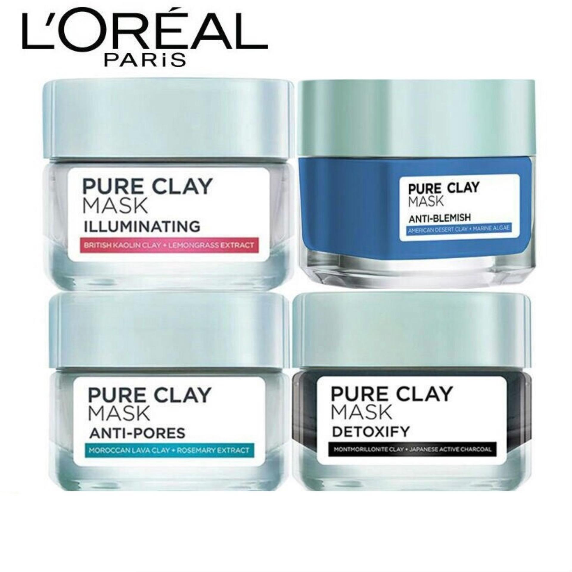 Mặt nạ đất sét LOreal Paris Pure Clay Mask 50g tốt nhất
