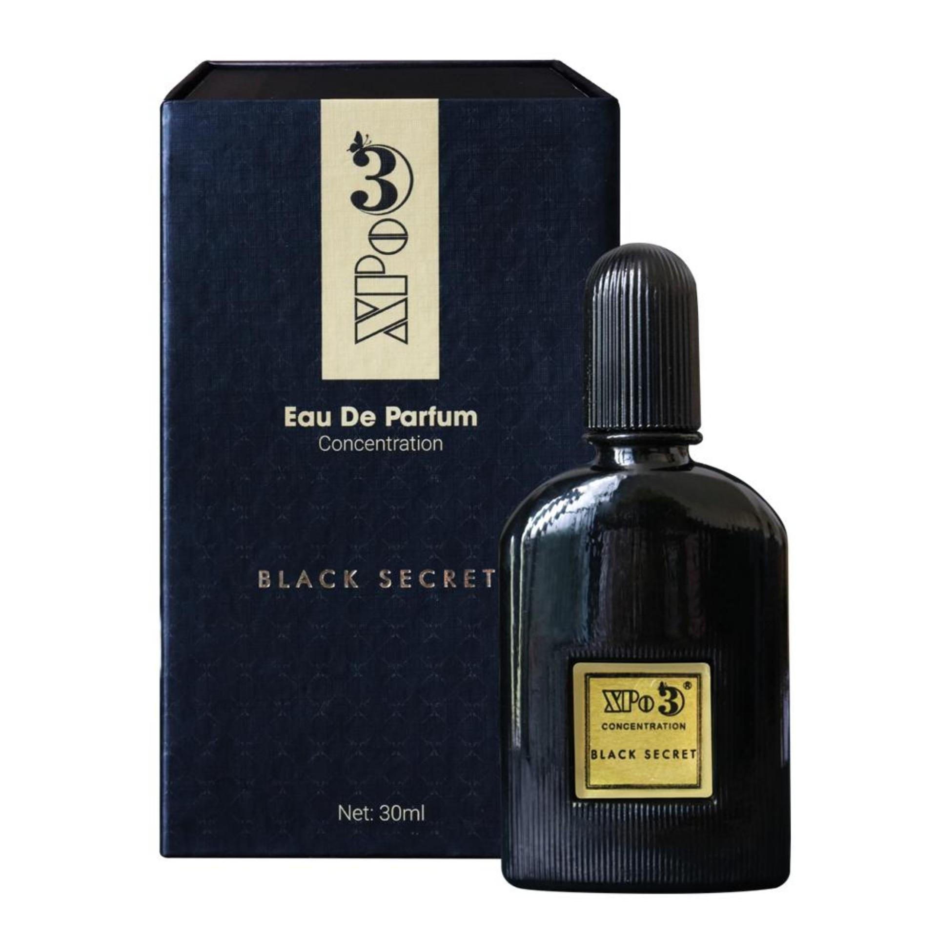 Nước hoa XBeauty XPo3 Black Secret 30ml cao cấp