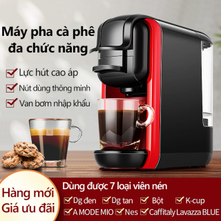 Máy pha cà phê đa năng máy pha coffee dùng được với bột, viên nén nespresso DG Nestle gia dụng pha nhanh cà phê buổi sáng Redepshop thumbnail
