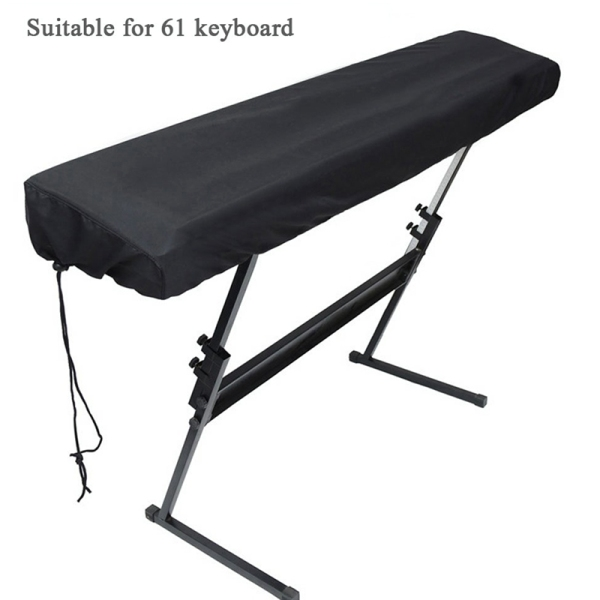 Piano Keyboard Dustproof and Splashproof Opening 61 Key Keyboard Cover Dust Cover Drawstring Draw Keyboard Instrument Cover Malaysia