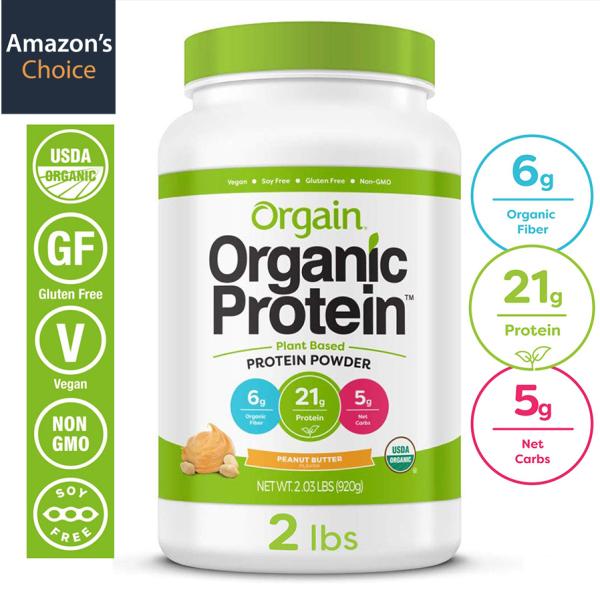 [HCM]Bột Pha Orgain Organic Protein đạm hưu cơ thực vật Gym - Keto - Lowcarb Đủ các loại hương