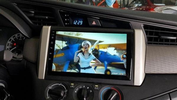 [Trả góp 0%] Màn hình Dvd Android 9 inchs  Innova 2016 - 2019 chạy sim 4G Ram 2G  Rom 32G  Anrdroid ra lệnh giọng nóiphát wifidẫn đườngTặng kho nhạc chất lượng cao 320kps. Hàng theo xe cắm giắc có kỹ thuật viên hướng dẫn lắp đặt