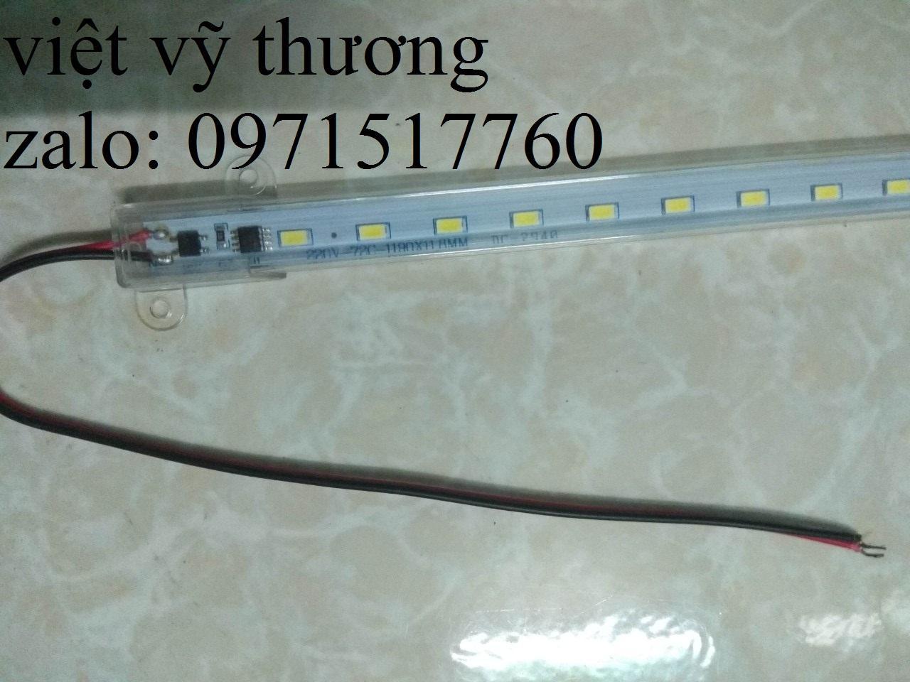 Led thanh 5730 220V  hàng đơn 1.2m 72led
