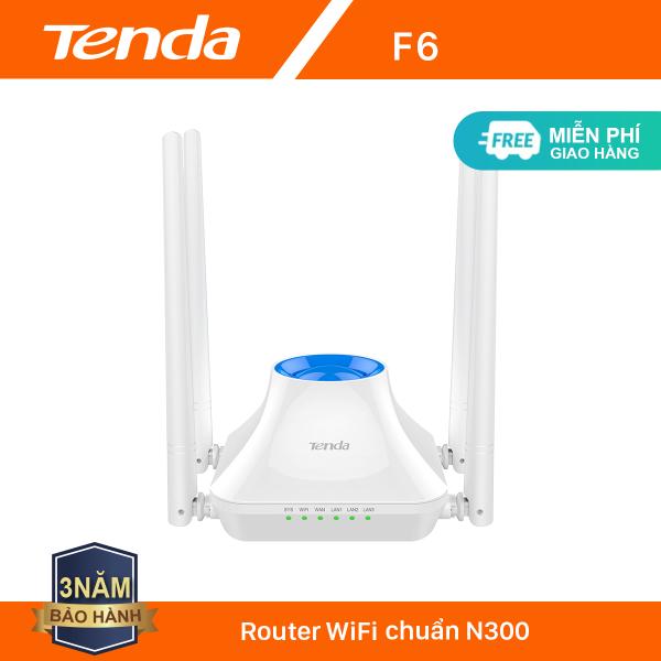 Bảng giá Tenda Thiết bị phát Wifi F6V3 Chuẩn N 300Mbps - Hãng phân phối chính thức Phong Vũ