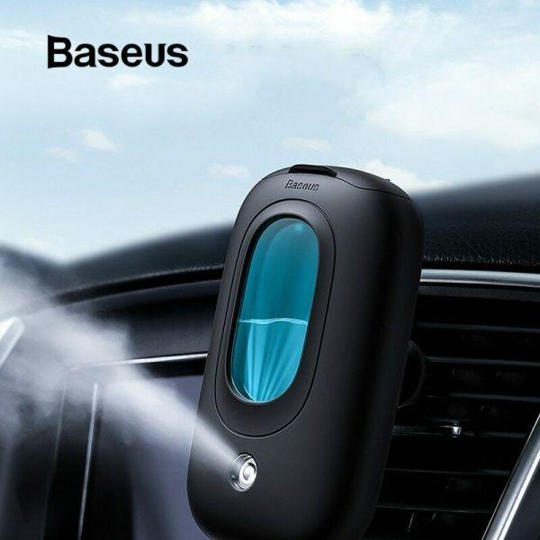 Máy tạo độ ẩm Baseus Mini Spaceship tạo độ ẩm và lọc không khí, khuyếch tán tinh dầu trên xe ô tô