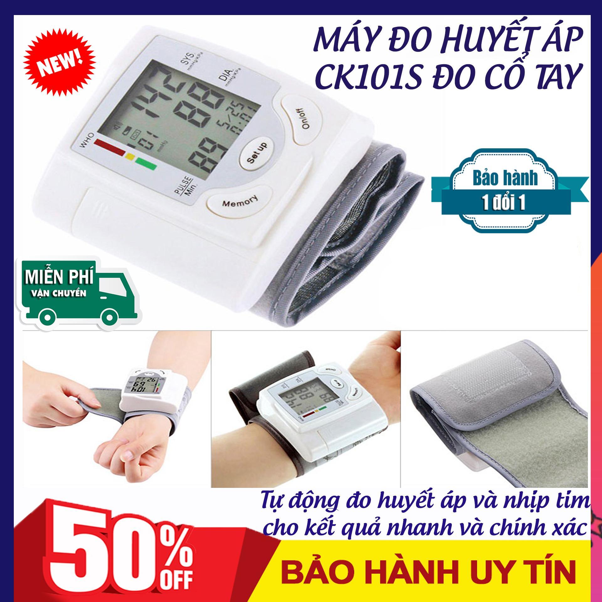 Máy đo huyết áp nhỏ gọn, Máy đo huyết áp loại dễ dùng, Mua Thiết bị đo huyết áp CK101S ở đâu uy tín. Thiết bị y tế gia đình bảo vệ sức khỏe cả gia đình bạn. Bảo hành 12 tháng. Sale hấp dẫn.
