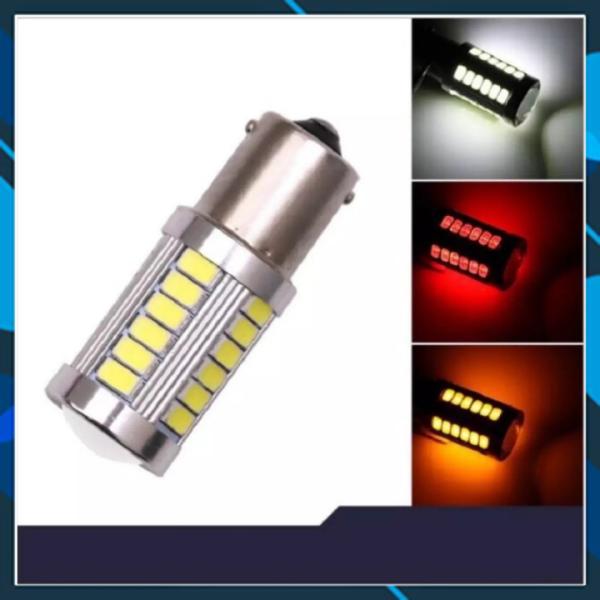 Phanh nhấp nháy 33 tim đèn hậu siêu sáng xe máy nhấp nháy đèn phanh sau đèn sương mù đèn hậu chớp nháy sử dụng điện 12v