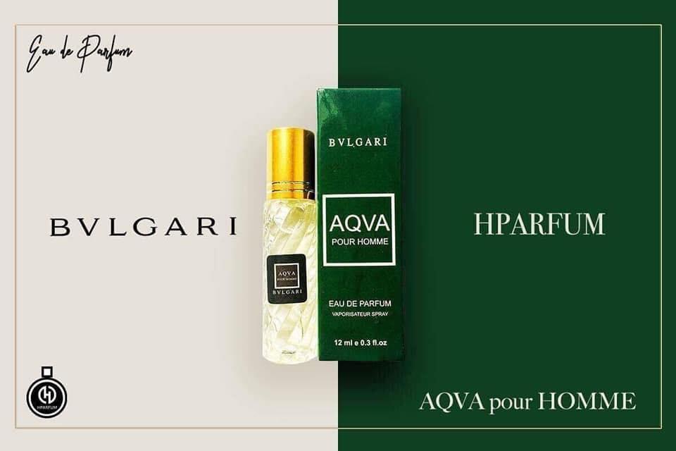 Tinh Dầu Thơm Pháp Hparfum - AQVA  [ Mùi Nam - Nữ] nhập khẩu