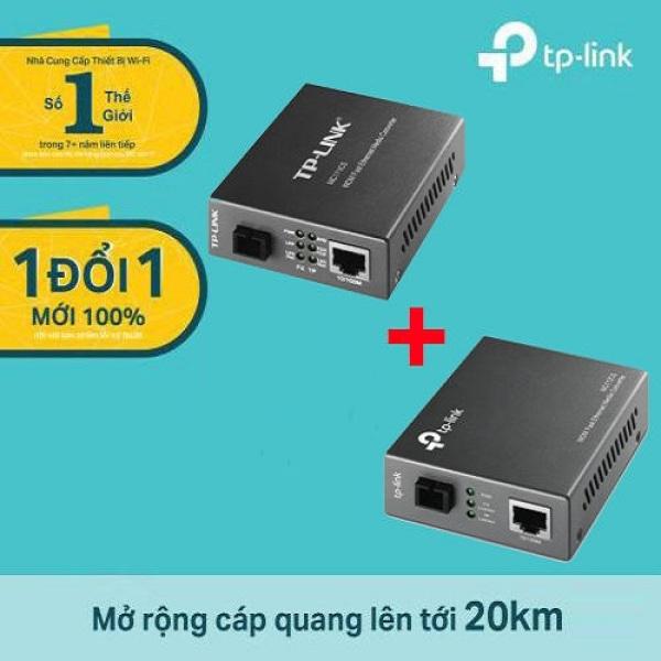 Giá Bộ chuyển đổi quang điện WDM 10/100Mbps TP-Link MC111CS, MC112CS - Hàng phân phối chính hãng