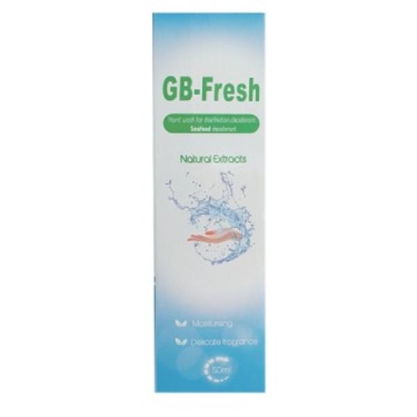 Nước Rửa Tay Khử Trùng Khử Mùi GB Fresh 50ml