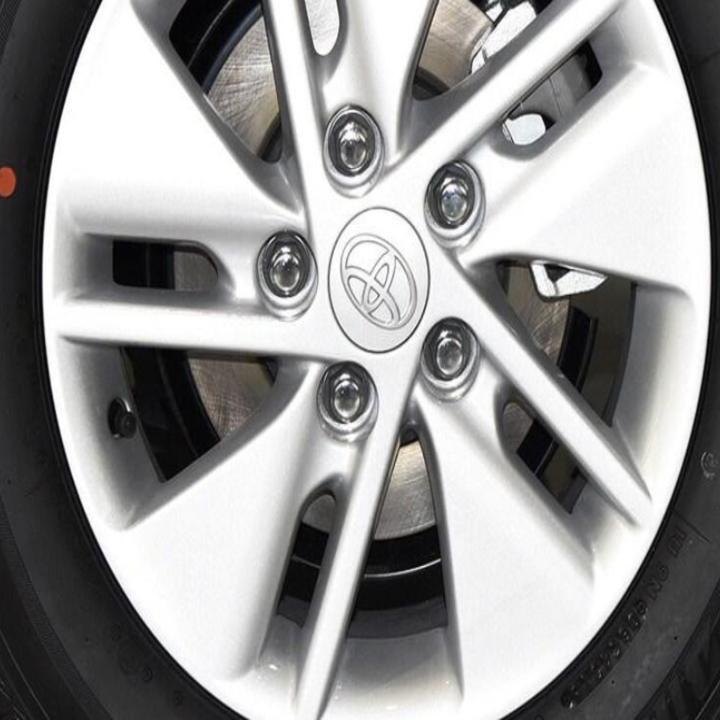 1 chiếc Logo chụp mâm, ốp lazang bánh xe ô tô, xe hơi nhãn hiệu Toyota đường kính 62mm ( Màu bạc) - 4
