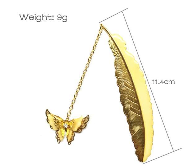 Mua Bookmark dạ quang bướm vàng - QQ Books