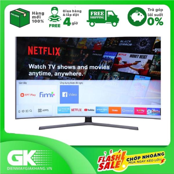 Bảng giá Smart Tivi Cong Samsung 4K 65 inch UA65NU7500 - Bảo hành 2 năm. Giao hàng & lắp đặt trong 4 giờ