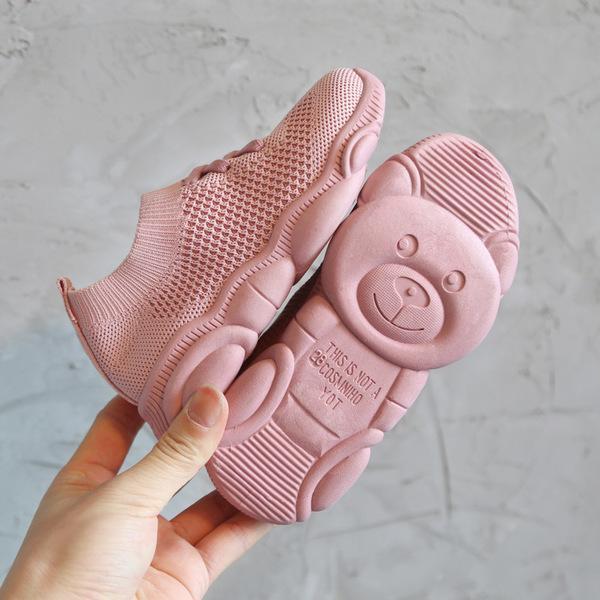 Giày bé gái và bé trai thể thao cổ chun UKK