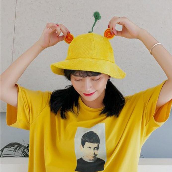 Gía xưởng Mũ Nón Maruko 3D Rộng Vành Nhiều Kiểu Mầm Cây Bucket Hat Ulzzang Kaki Nhung Siêu Cute ( size ng lớn)