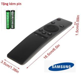 Điều khiển tivi SamSung 4K UtraHD - Tặng kèm pin chính hãng - Remote SamSung - Remote tivi SamSung 4K smart internet loại tốt thay thế khiển zin theo máy dùng được cho tất cả các dòng tivi SamSung internet hiện nay thumbnail