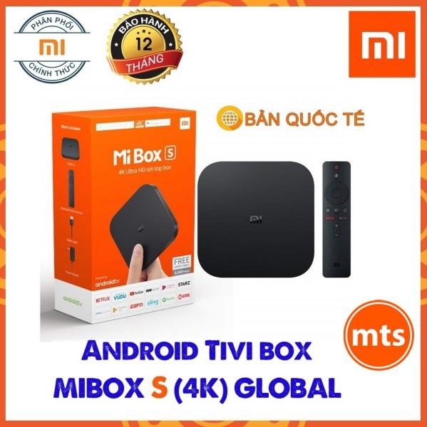 Bảng giá Android Tivi Mibox S (4K) Bản Quốc Tế - Chính hãng