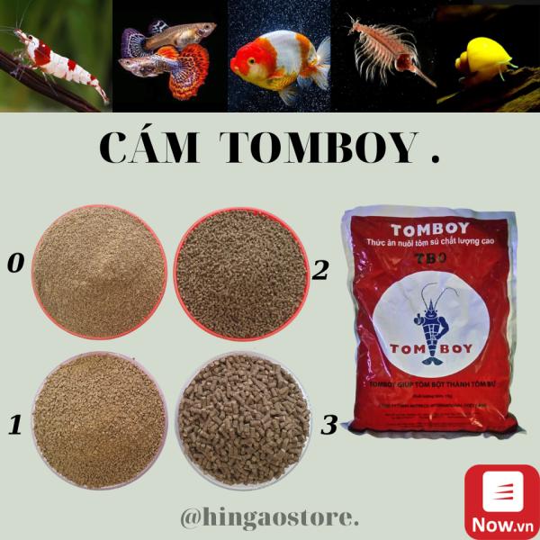 Cám TOMBOY TB0, TB1, TB2, TB3 - Thức ăn cho cá con, bobo, artemia sinh khối , tôm (hàng chiết) | Hingaostore.