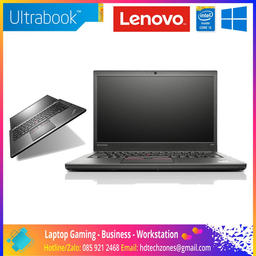 "Laptop Lenovo ThinkPad T450s Ultrabook: Core i7 5600U / RAM 8GB / SSD 240GB / Màn hình 14"" Full HD"