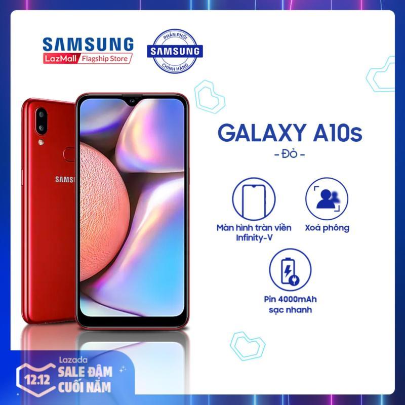 Samsung Galaxy A10s 32GB RAM2GB - Màn hình tràn viền 6.2 + Công nghệ nhận diện khuôn mặt + Cảm biến vân tay một chạm mặt lưng + 2 camera sau + Pin 3500mAh - Hàng Phân Phối Chính Hãng