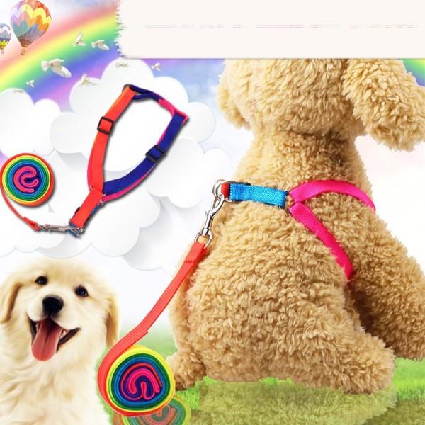 Dây dắt chó mèo thú cưng đi dạo đeo ngực mềm mại siêu bền, dây dắt dạng yếm có thể điều chỉnh