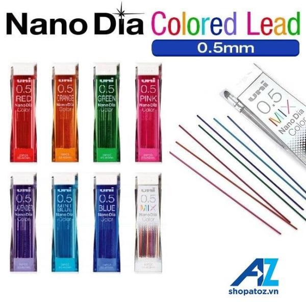 Mua Hộp ngòi Chì Kim Uni Nano Dia Color cỡ 0.5/07mm