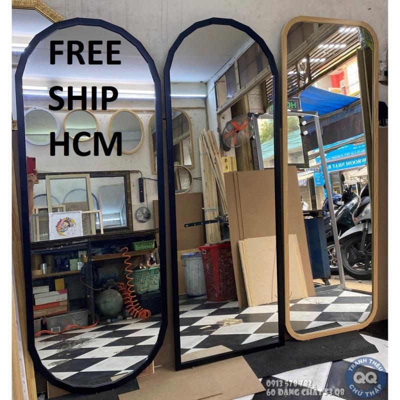 Gương soi toàn thân FreeShip HCM