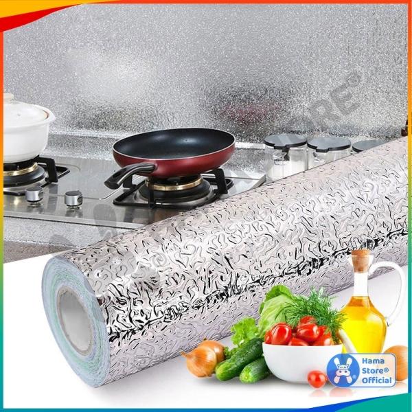 Giấy bạc dán tường cách nhiệt, miếng decal dán tường nhà bếp, chống thấm bền đẹp | GD_NB_007