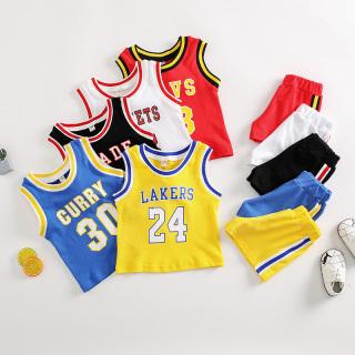 Set 3 bộ Quần áo bóng rổ cho trẻ em 100% cotton 3-13kg FREESHIP thumbnail