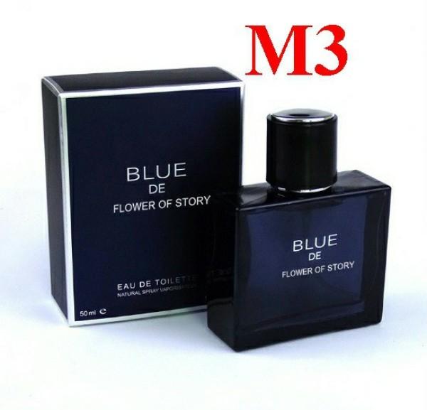 [HOT] Nước Hoa Nam Blue, lưu hương 12 tiếng, hương thơm quyến rũ đàn ông đích thực cao cấp