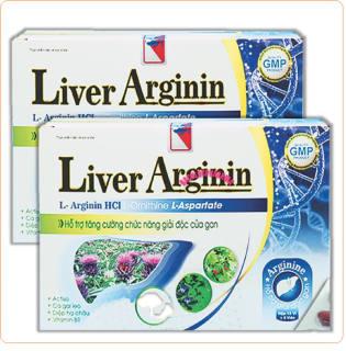 Viên Uống Giải Độc Gan Liver Arginin,Với Thành Phần Diệp Hạ Châu1200mg, Cà Gai Leo2400mg thumbnail