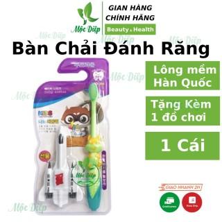 Bàn chải đánh răng trẻ em Hàn Quốc lông mềm mịn chống chảy máu lợi an toàn cho bé Mộc Diệp Cosmetic thumbnail