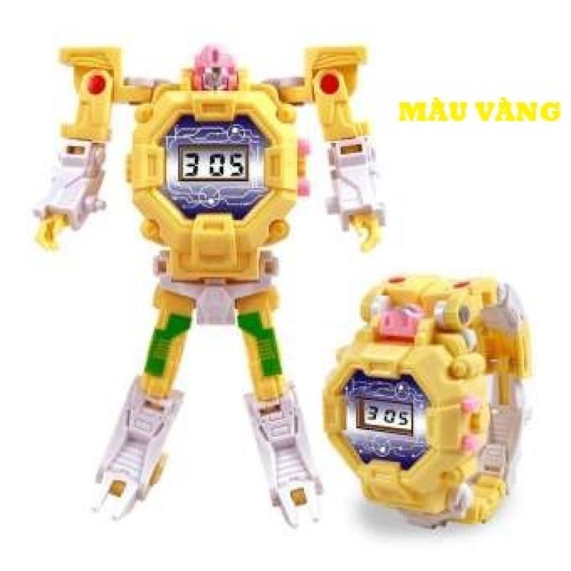 Nơi bán Đồng Hồ Điện Tử Cao Cấp  Trẻ Em Có Thể Biến Hình Robot 2 Trong 1 DHROBOT03