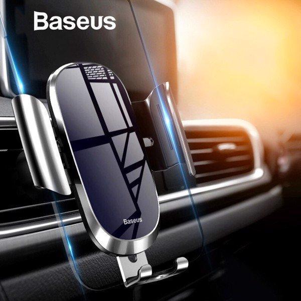 Bộ đế giữ điện thoại khóa tự động dùng cho xe hơi Baseus Future Gravity Car Mount (Air Outlet Version)