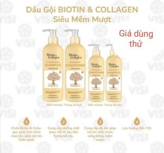 [Chính hãng]Bộ Dầu Gội Xả Biotin & Collagen Siêu Mềm Mượt (Mẫu mới ra) thumbnail