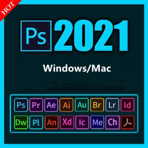Bảng giá Phần mềm Adobe Photoshop CC 2021 - Windows/Mac Phong Vũ
