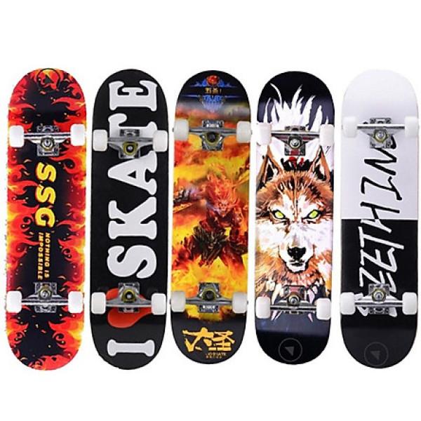 Mua [HCM]Mua Ván Trượt Người Lớn Ván Trượt Skateboard Mặt Nhám Cỡ Đại Đặt Chuẩn Thi Đấu Gỗ Phong Ép 8 Lớp Bánh Pu + Khung Trục Hợp Kim Nhôm Chịu Lực Tốt Giá Rẻ.
