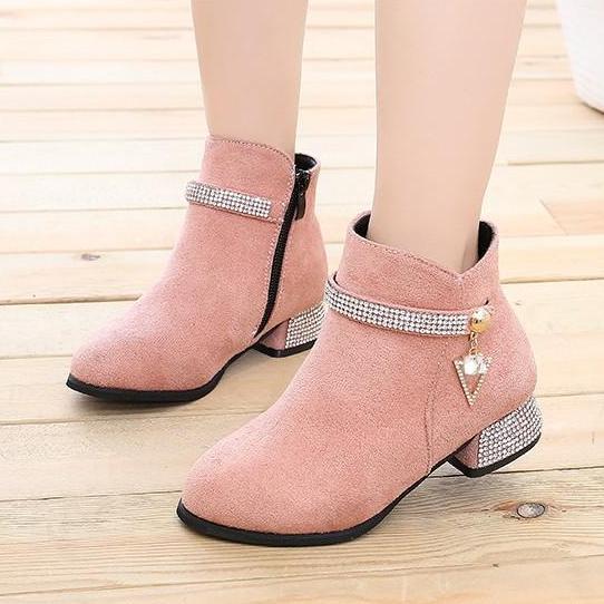 Giá bán Giày Boot cho bé gái phong cách hàn quốc EB002