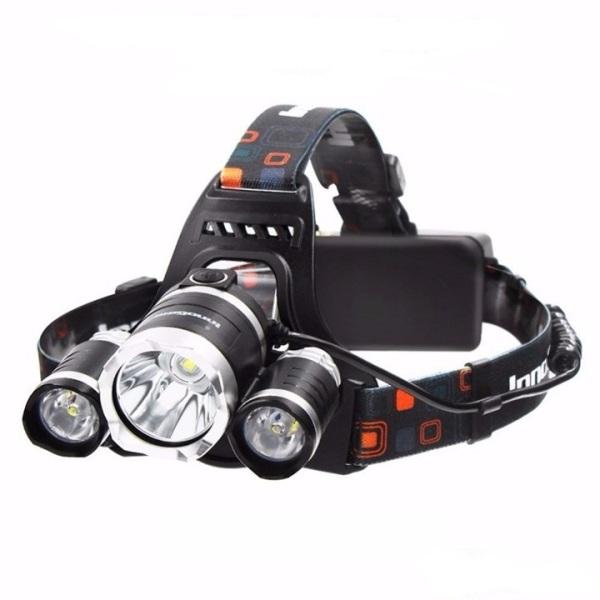 Đèn pin đội đầu 3 bóng siêu sáng Nhiều Chế độ, Pin sạc dung lượng cao. Độ sáng mạnh, cự ly chiếu sáng xa. Gọn nhẹ, mỹ quan. Tiết kiệm, bền bỉ