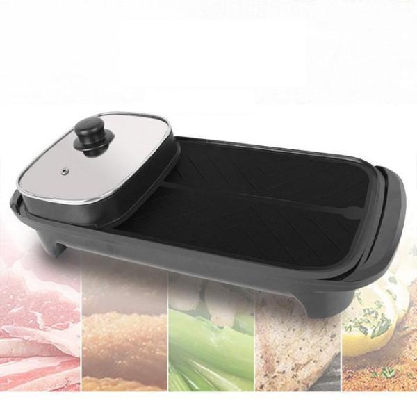 Bảng giá Bếp lẩu - bếp lẩu nước, nướng 2 trong 1 - bếp lẩu 2 ngăn - bếp lẩu điện Điện máy Pico