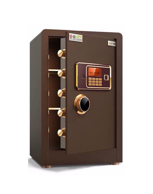 Két sắt vân tay điện tử Tiger có màn hình an toàn dùng cho gia đình, công sở, căn hộ, khách sạn