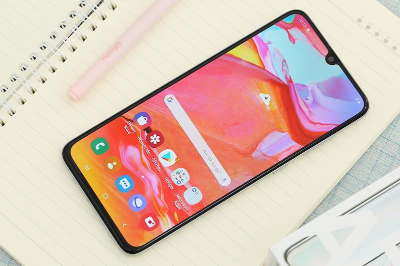 Hot Deal Khi Mua Điện Thoại Samsung Galaxy A70 128GB - Thiết Kế Tinh Tế Và Sang Trọng - Bảo Hành 12 Tháng