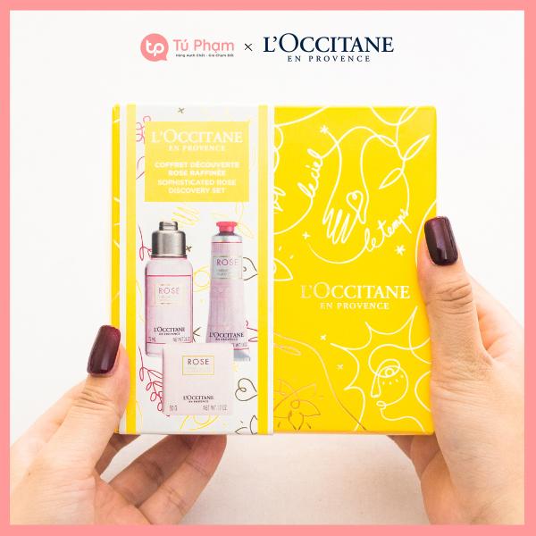 Bộ Sản Phẩm 3 Món LOccitane Sophisticated Rose Discovery Set