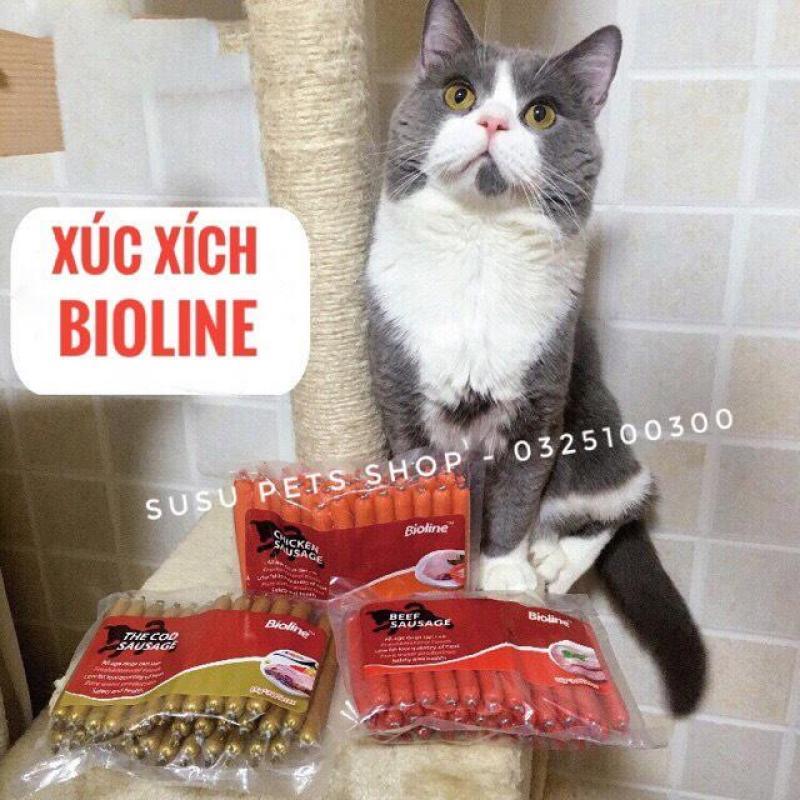 Xúc Xích BIOLINE cho Chó, Mèo