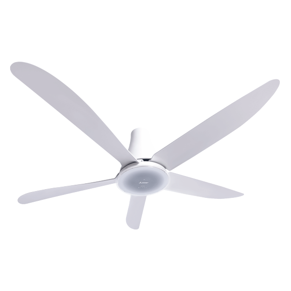 Quạt trần 5 cánh có Remote màu trắng - MITSUBISHI C56-RW5 SF-GY