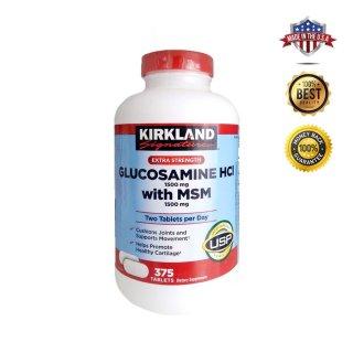 Viên bổ khớp Kirkland Glucosamin Hcl & MSM 1500mg - Mỹ (375 viên) thumbnail