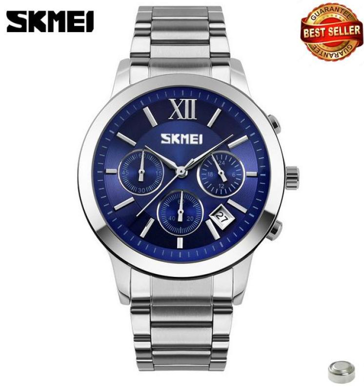 Đồng hồ nam dây thép siêu đẹp Skmei 9097 (hàng CH)