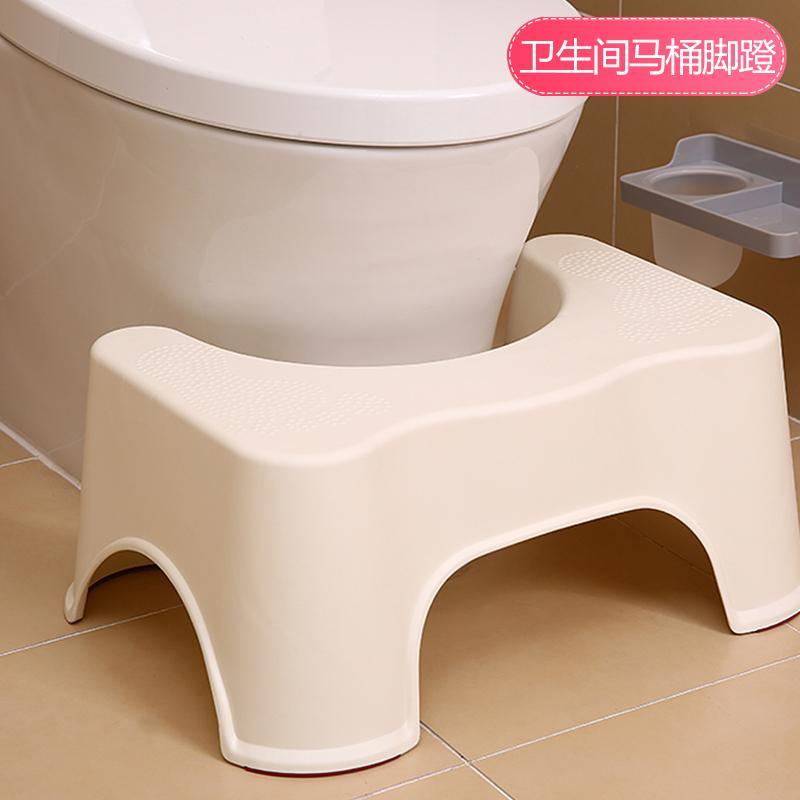 Japan Toilet Stool Bathroom Potty Chair Useful Product Pregnant Women Stool Plastic Footpad Toilet Seat Children Toilet Footstool